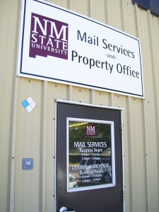 Mail Services Door